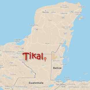 Map-Tikal